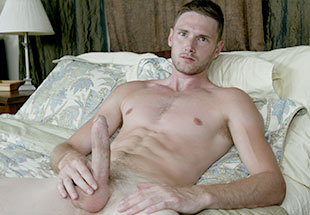 James Kelly Jerking with his Huge Dick